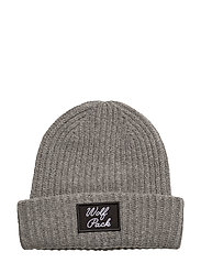Molly Wolf Hat - LIGHT GREY MELANGE