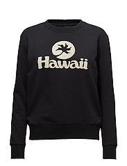 Hawaii Sweatshirt - BLACK
