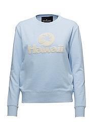 Hawaii Sweatshirt - PASTEL BLUE