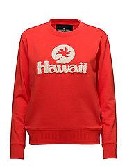 Hawaii Sweatshirt - RED