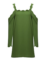 Mattie Scallop Dress - GREEN