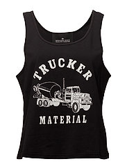 Travis Tank Trucker - BLACK