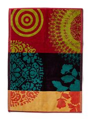 Desigual Living TSHOWER_BATHMAT RAINBOW