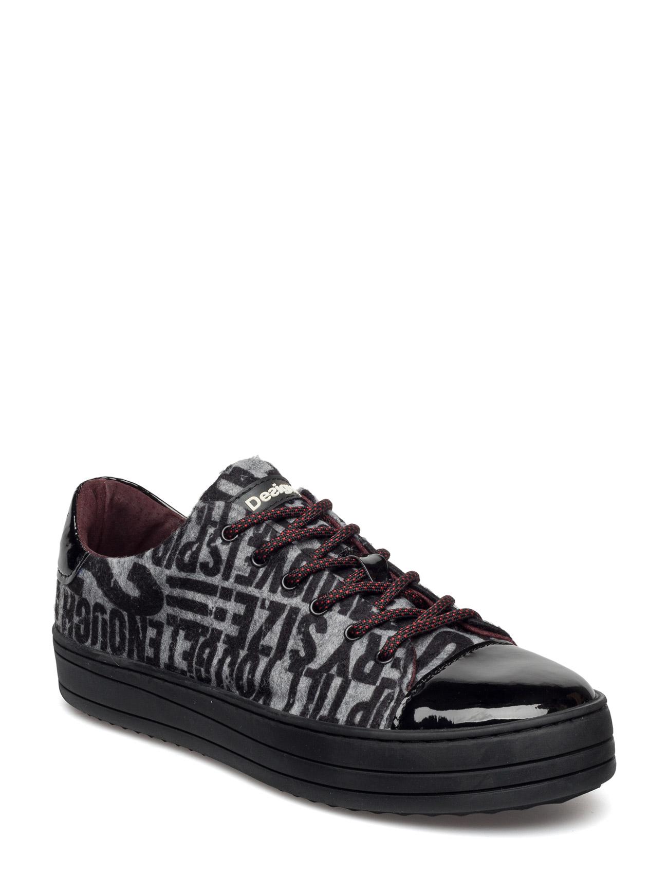 Shoes Kartel Funky Desigual Shoes Sneakers til Damer i neger