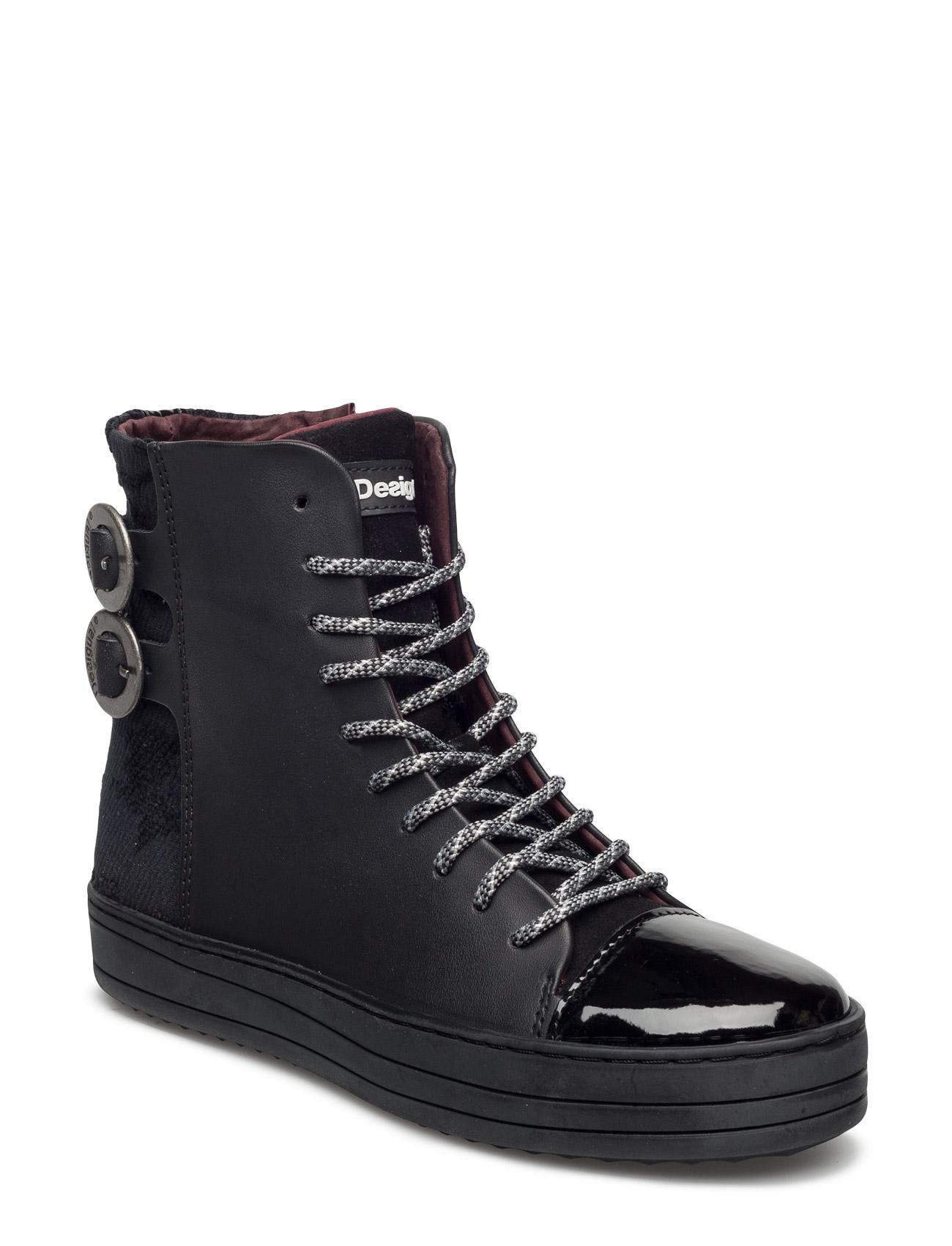 Shoes Black Sheep Reggae Desigual Shoes Sko til Kvinder i neger