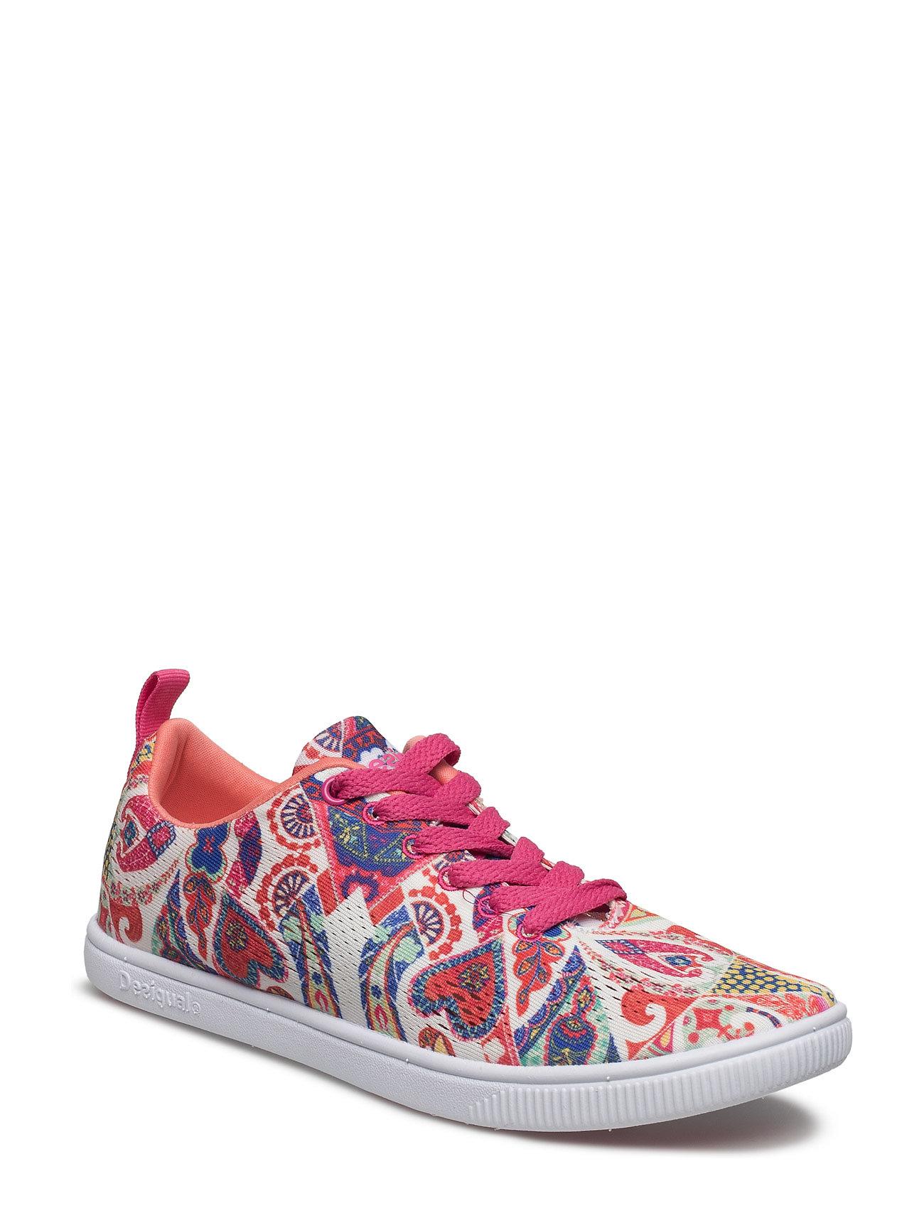 Shoes Camden Hearts Desigual Shoes Sneakers til Damer i Blanco