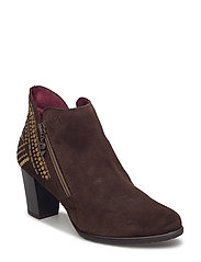 SHOES FRIDA STUDS - CHESTNUT