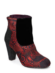 SHOE_ANKLE BOOT CORRASCO - ROJO