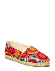 SHOES ESPARTO PLAN - ROJO CLAVEL