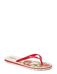 SHOES BEACH PLANA 1 - ROJO FRESA