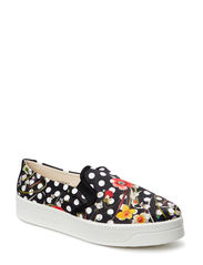 SHOES TOPOS FLOR - NEGRO