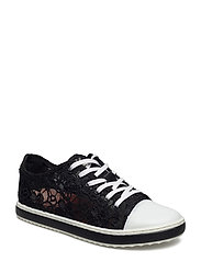 SHOES SUPPER HAPPY LACE - NEGRO