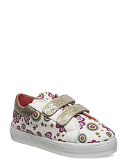 SHOES SILVER MINI ROLLE - BLANCO