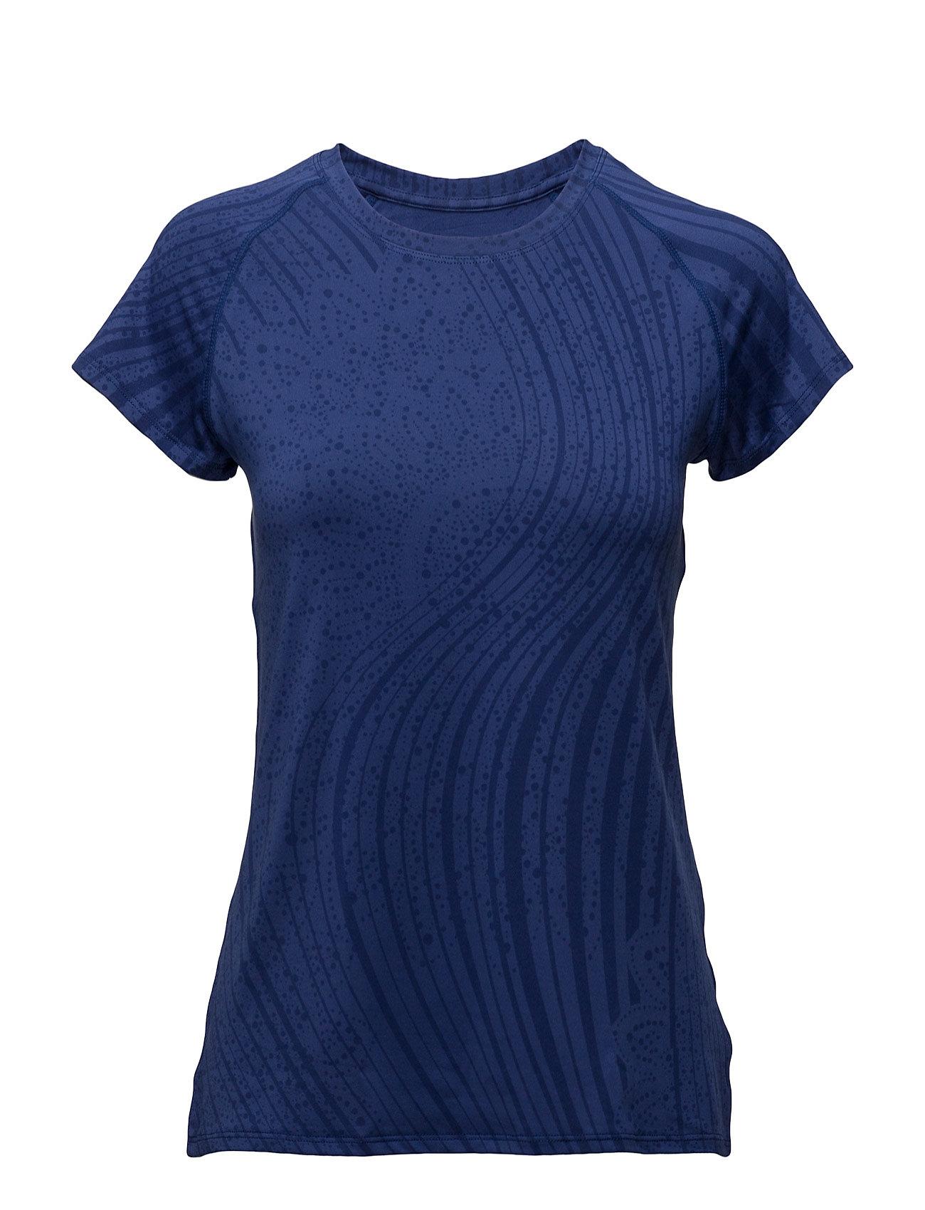 Ts Raglan Essentia Desigual Sport Løbe t-shirts til Damer i Blå
