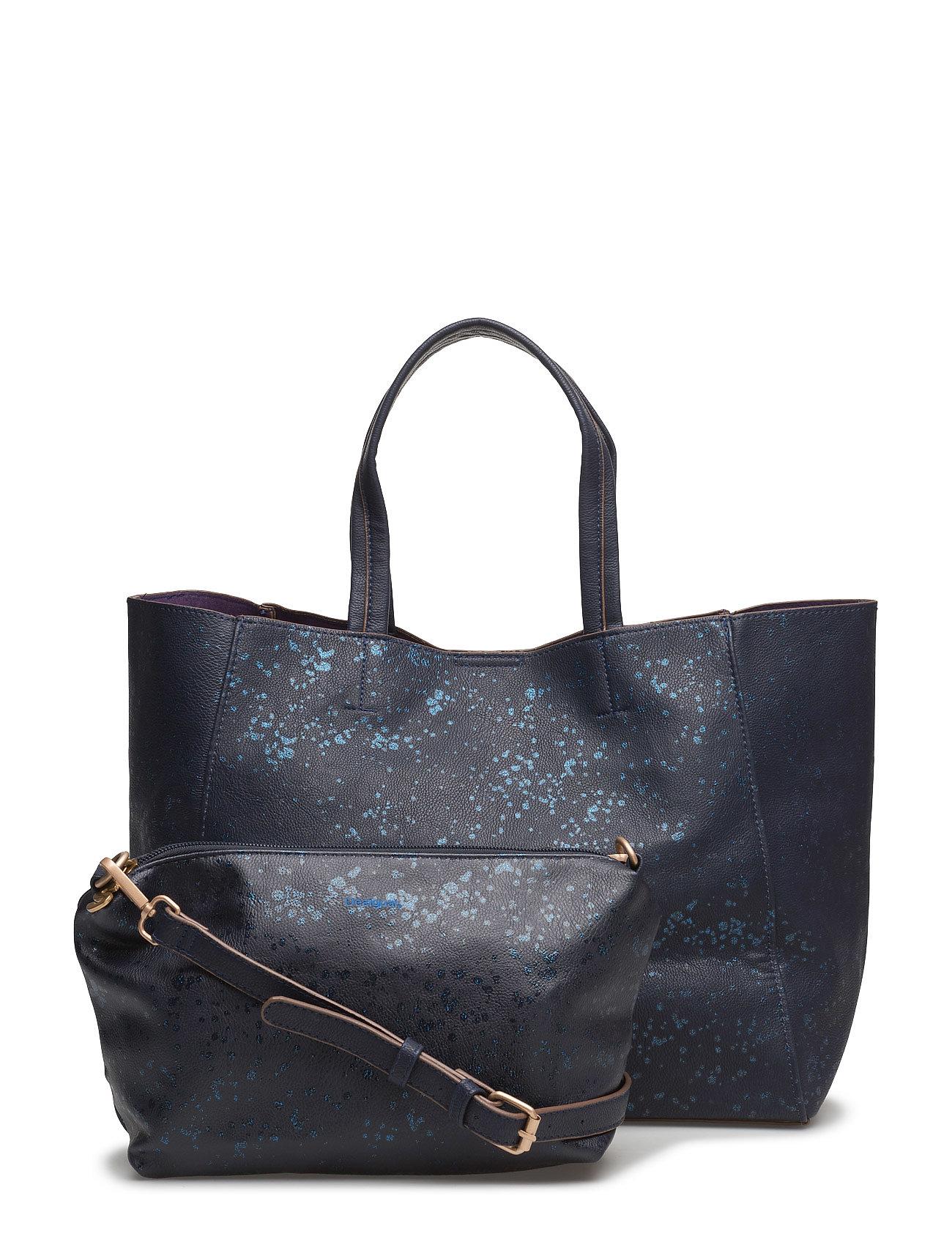 Bols Cuenca Metal Splatter Desigual Accessories Shopper tasker til Damer i Navy blå