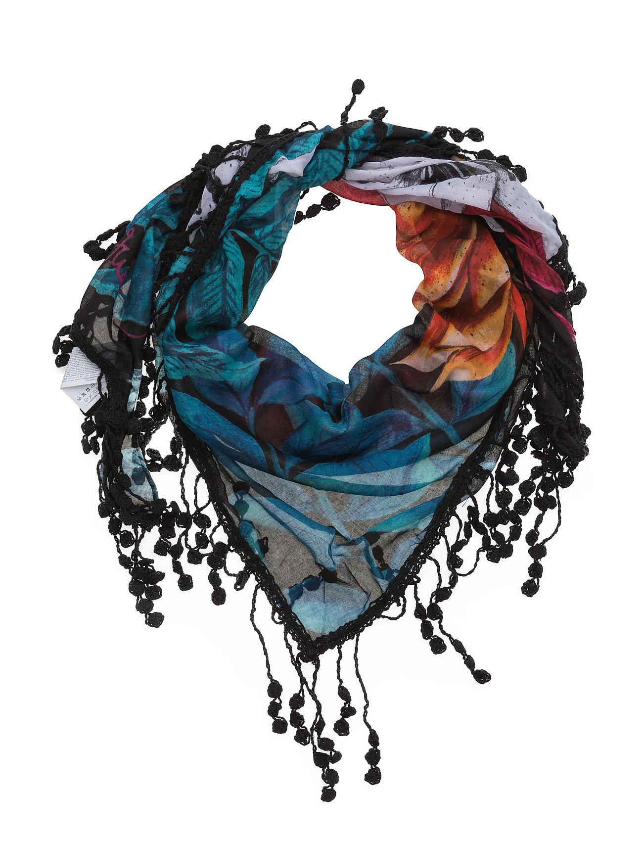 Foulard Triang Spring Exp Desigual Accessories Halstørklæder til Damer i neger