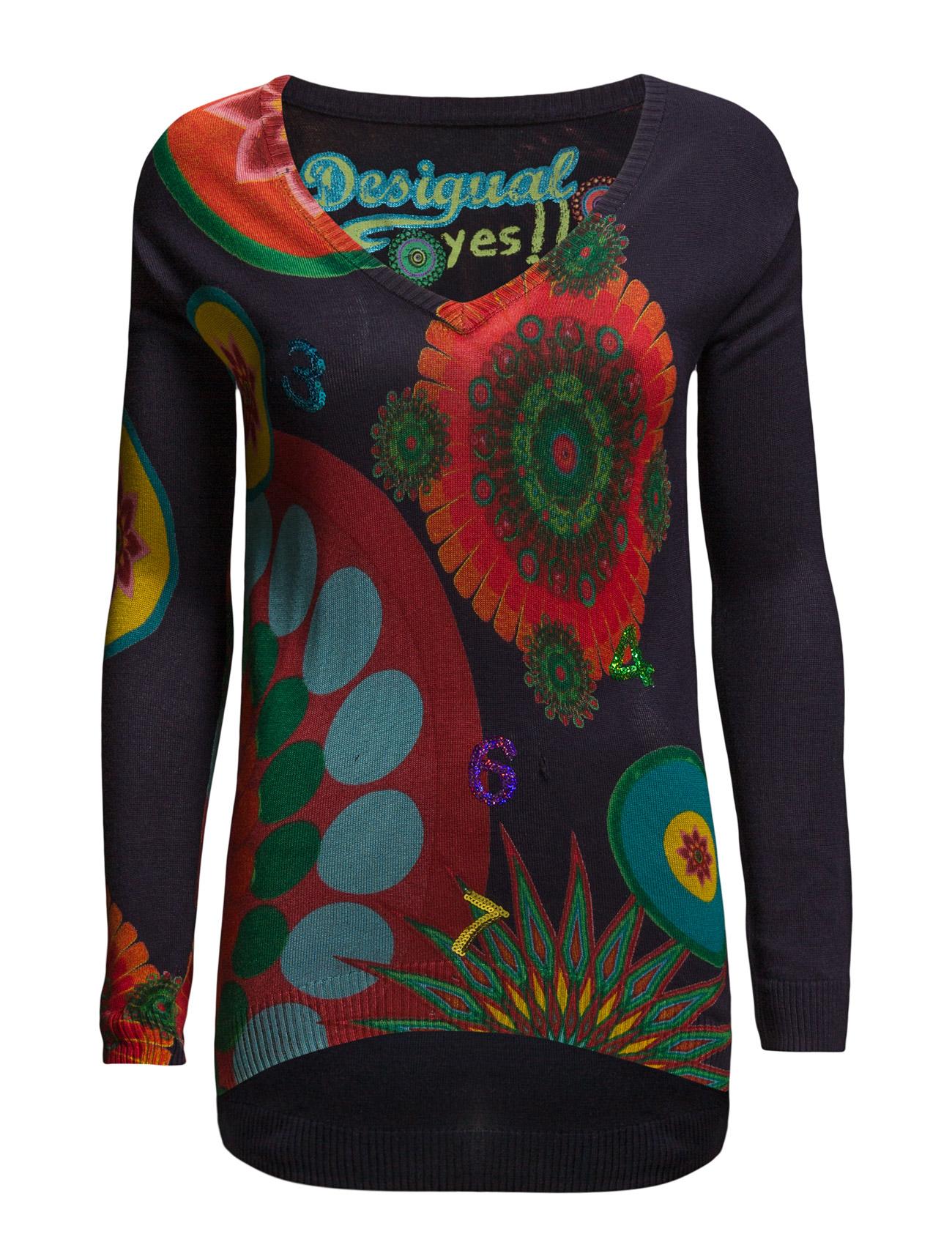 Jers Nadia Desigual Sweatshirts til Damer i Marino