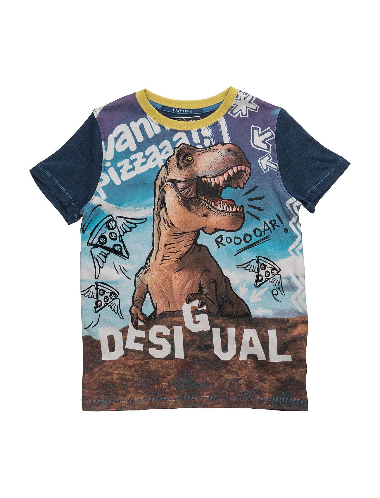 Ts Manu Desigual Kortærmede t shirts til Børn i