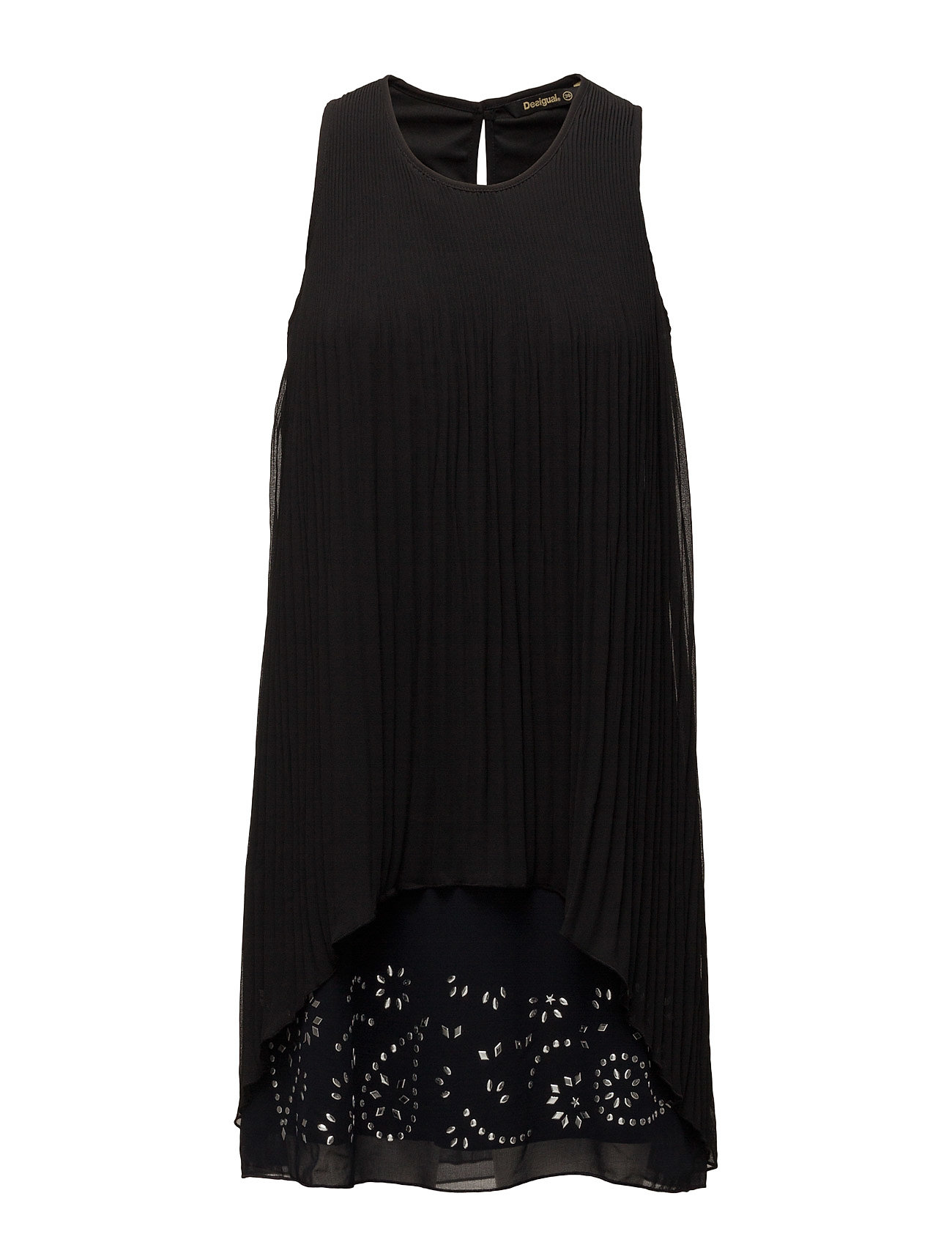 Vest Besal⁄ Desigual Korte kjoler til Damer i neger