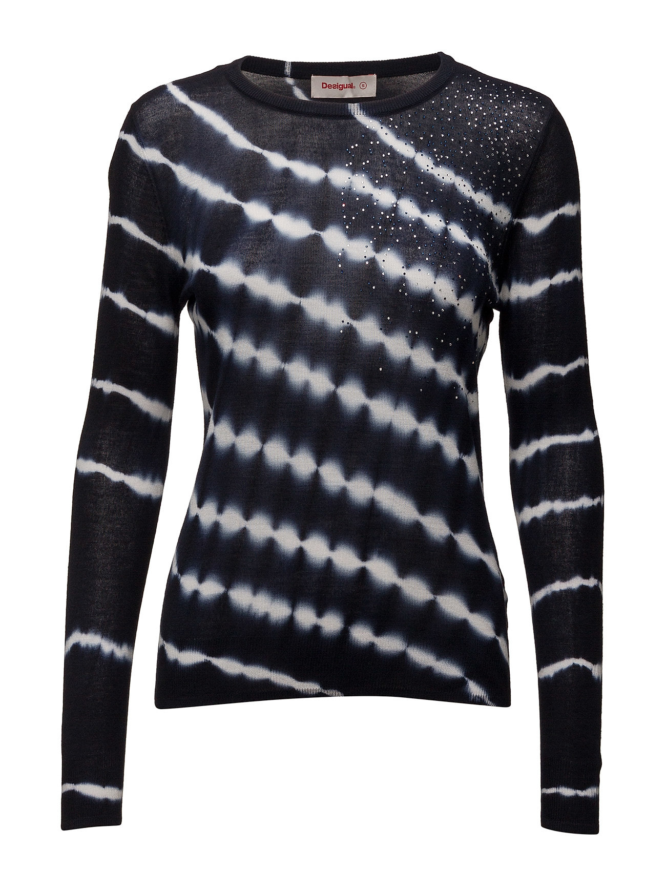 Jers Elian Desigual Sweatshirts til Damer i Marino