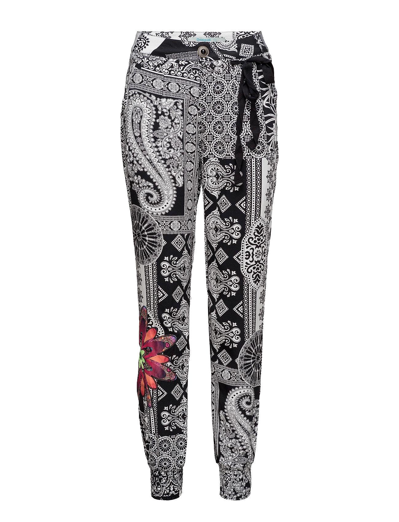 Pant Olass Desigual Casual bukser til Damer i neger