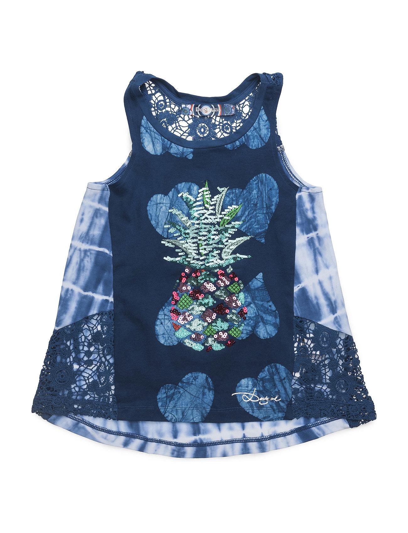 Vest Vermont Desigual T-shirts til Børn i Midnight blå