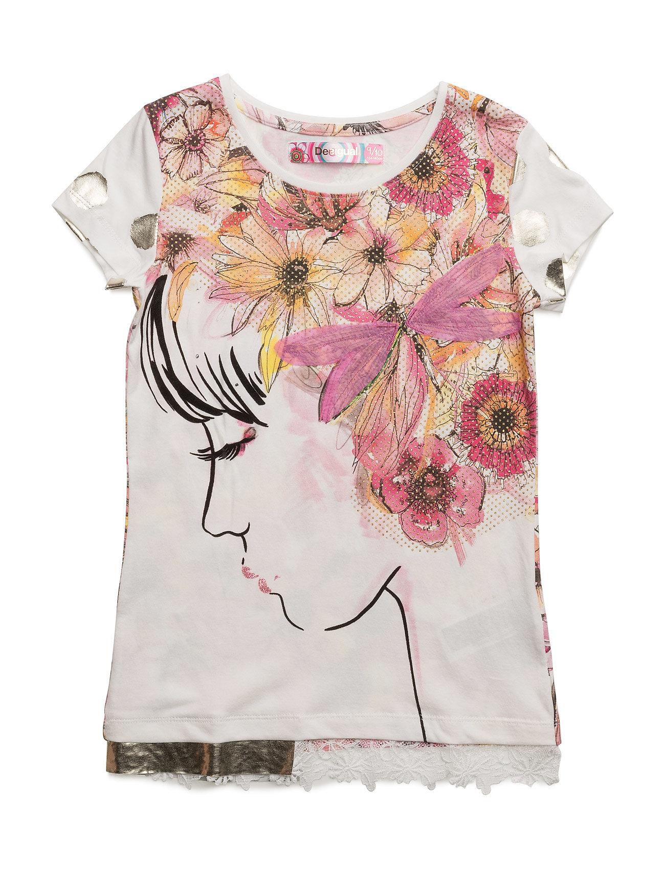 Ts Arkansas Desigual Kortærmede t-shirts til Børn i