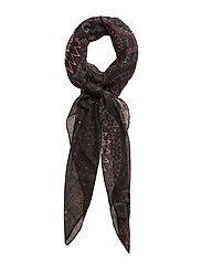 FOULARD RECTANGLE NOA - NEGRO