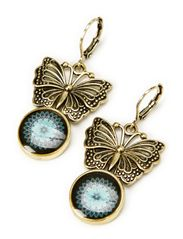 PENDIENTES BUTTERFLY CARR - TINTA
