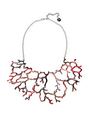 COLLAR BOHO MIX CORAL - SUNKIST CORAL