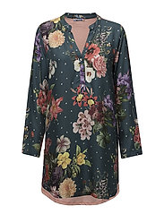 NIGHTDRESS DARK FLORAL - JUNE BUG