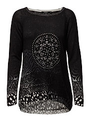 JERS PULLOVER - NEGRO