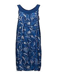 DRESS STRAPS THINK IN BLUE - AZUL KLEIN