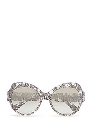WOMEN'S SUNGLASSES - GUNMETAL LACE