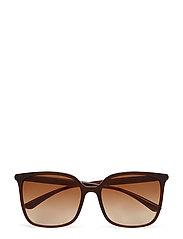 WOMEN'S SUNGLASSES - TRANSPARENT BROWN
