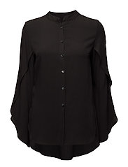 Tulip blouse - BLACK