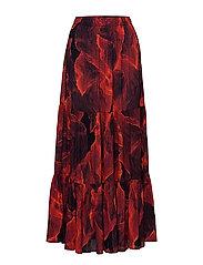 Ruffle Skirt - RED