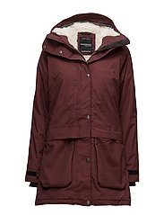 LYKKE WNS PARKA - OLD RUST