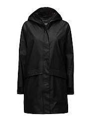 ULLA WNS COAT - BLACK