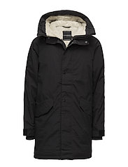 HARRY USX PARKA - BLACK