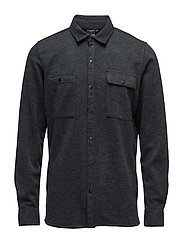 WILL USX SHIRT - COAL BLACK