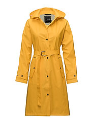 MIZZIE WNS COAT - YELLOW