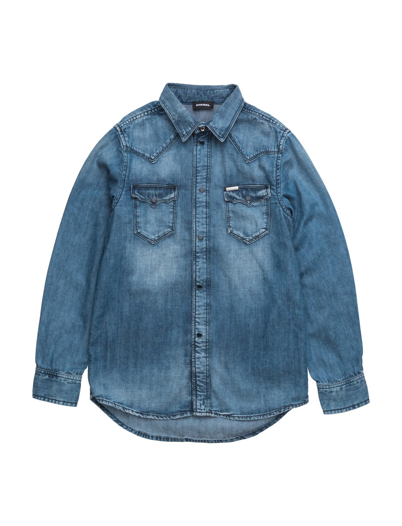 Citros Shirt Kxa0i Diesel Trøjer til Drenge i Denim
