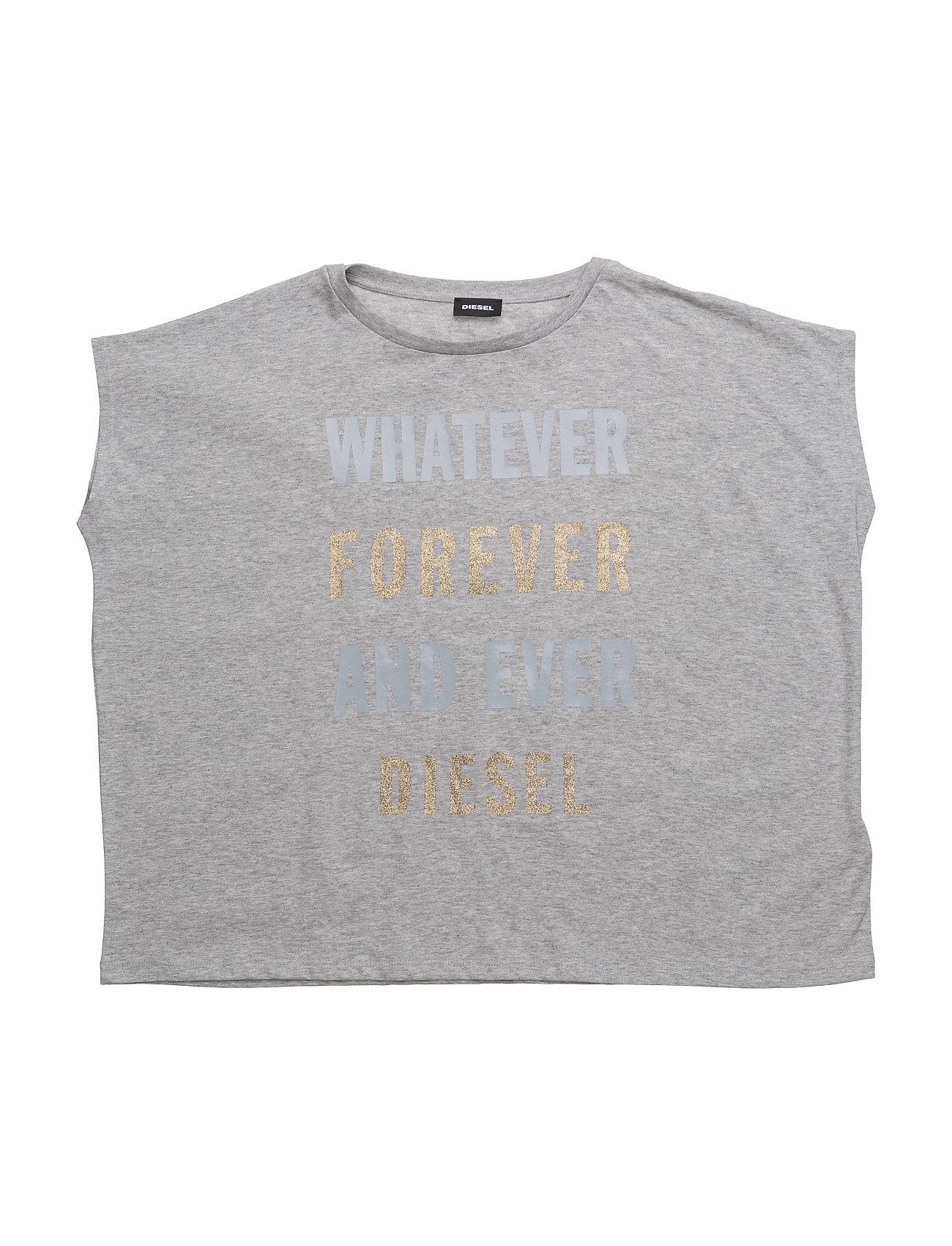 Tamela T-Shirt 00yi9 Diesel Ærmeløse til Børn i Grey Melange