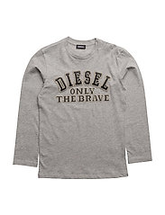 TIPPI ML SF T-SHIRT - LIGHT GREY MELANGE