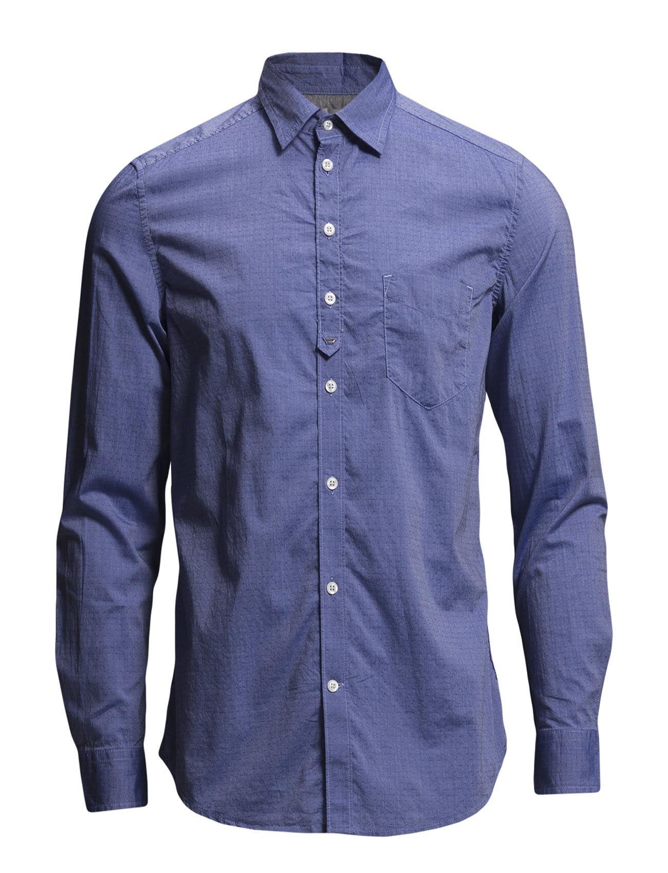 S-Zul Shirt Diesel Men Casual sko til Mænd i Blå