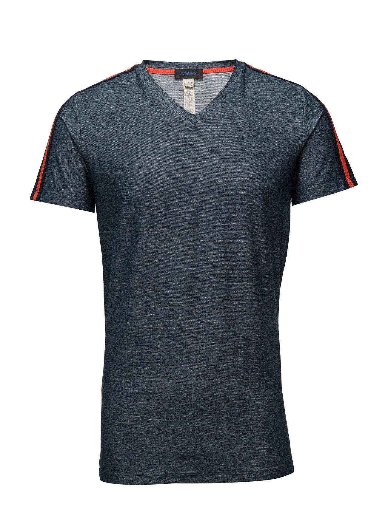 Mo-Dteev T-Shirt Diesel Men Kortærmede til Mænd i Sort