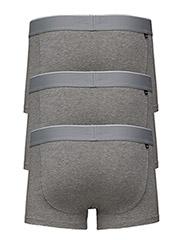 Umbx-Korythreepack Boxer-Shorts - DARK GREY MELANGE