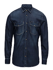 D-ROOKE SHIRT - DENIM