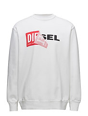 S-SAMY SWEAT-SHIRT - BRIGHT WHITE
